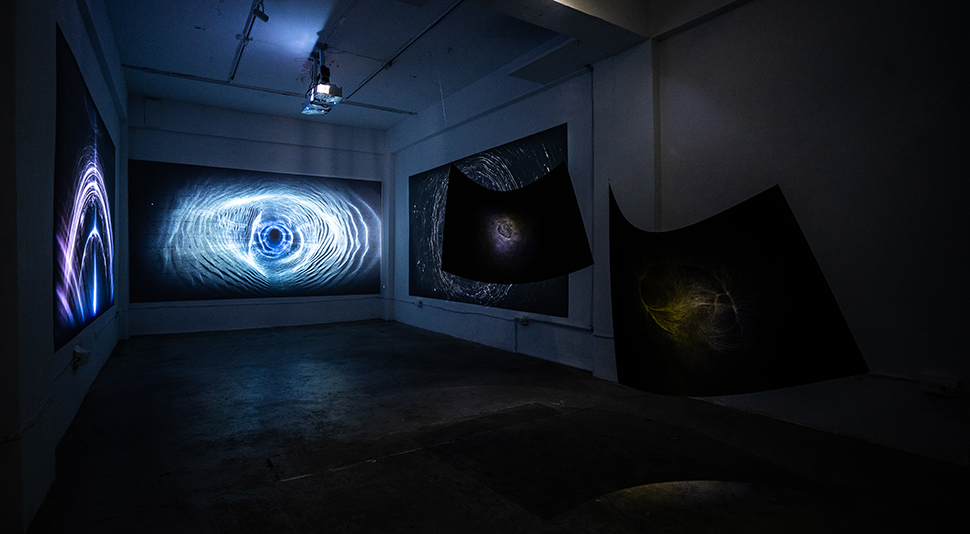 Notes on Psychedelics II: Inside a Memorable Fancy, altered state of consciousness, Yin-Ju Chen, video installation, drawing installatio